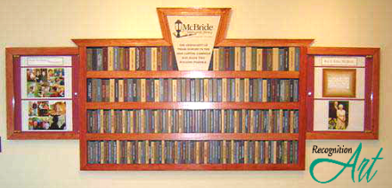 Berwick Library Display by RecognitionArt