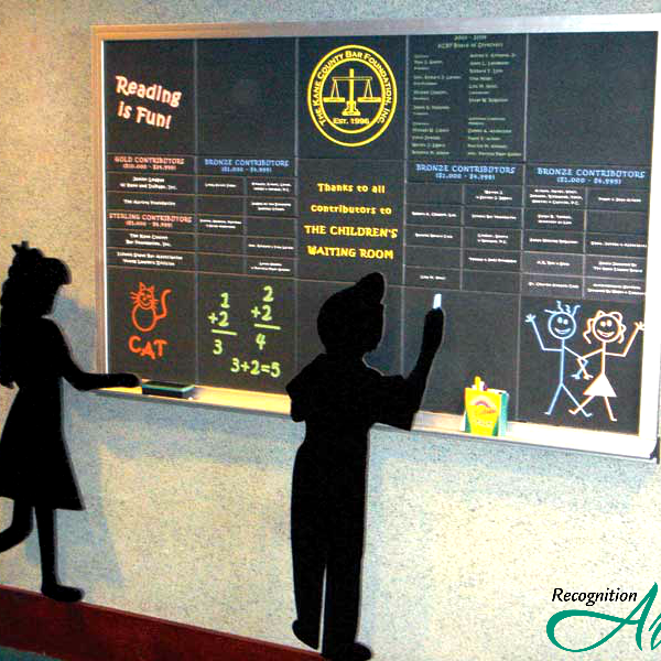 Kane County Bar Foundation IL Kids Corian by RecognitionArt