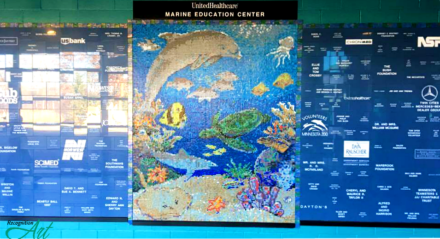 Minnesota Zoo Aquarium Mosaic Wide by RecognitionArt