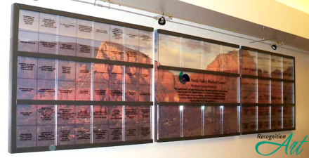 Verde Valley Medical Center AZ Photo Backer Square Panel Plexiglas Display by RecognitionArt